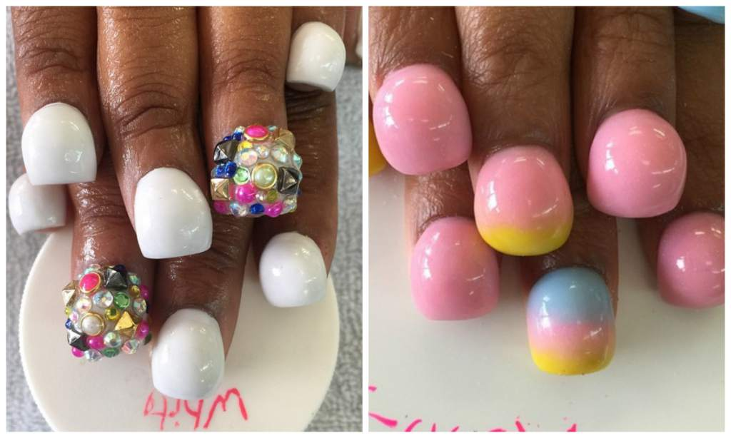 Las nuevas u as bubble nails kebuena - Ultimas tendencias en unas ...