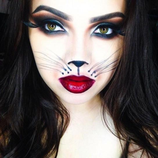 Maquillaje para el día de brujas - Kebuena