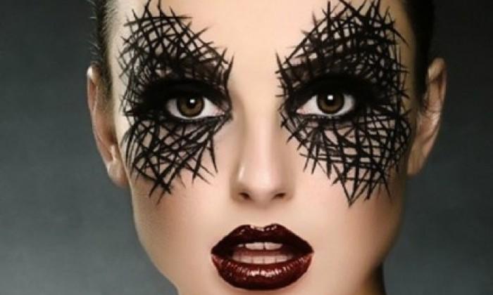 ojos halloween maquillaje - Maquillaje Bruja
