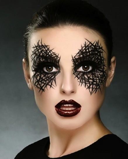 ojos halloween maquillaje - Como Maquillarse En Halloween