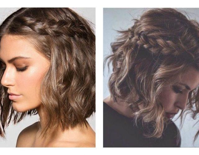 Peinados para pelo corto nochevieja