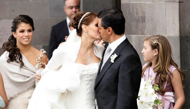 Matrimonio Catolico Hijos : Celebran años de matrimonio el presidente enrique peña