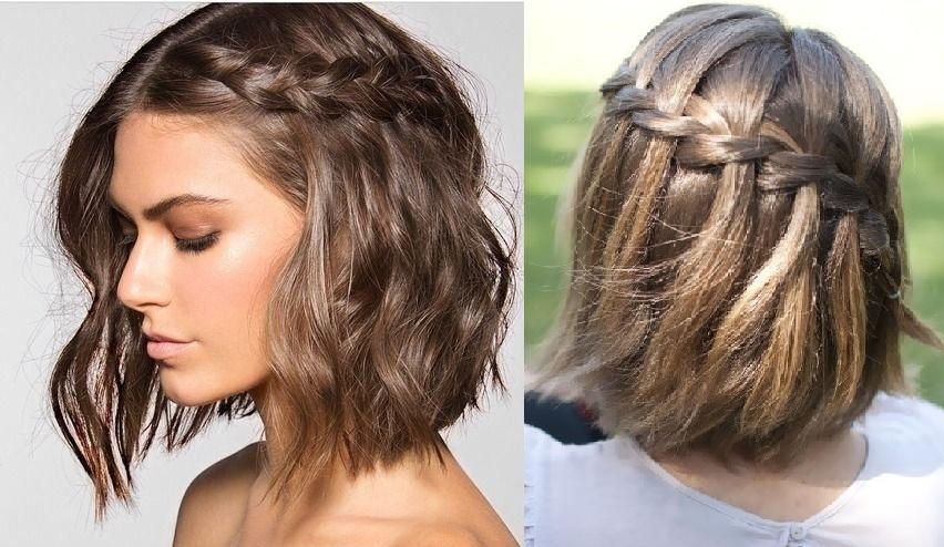 Peinados sueltos de pelo corto