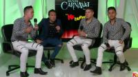 Banda Carnaval festejando aniversario en la Ke Buena Entrevista