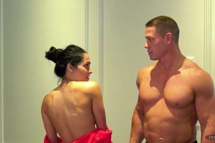 WWE: Nikki Bella y John Cena se desnudaron para celebrar