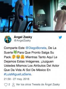 Diego Boneta es en estos momentos el centro de atención por interpretar a Luis Miguel en la bioserie, pero además lo halagaron por esta razón.