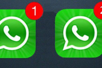 Mira como puedes tener dos cuentas de WhatsApp en tu celular