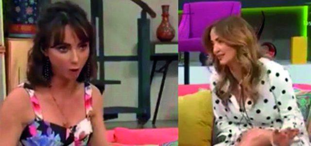 Andrea Legarreta estalla contra Natalia Tellez en pleno programa en vivo