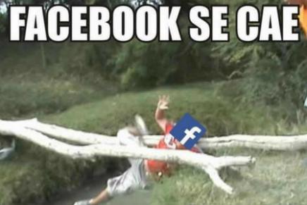 Los mejores memes de la caída de Facebook