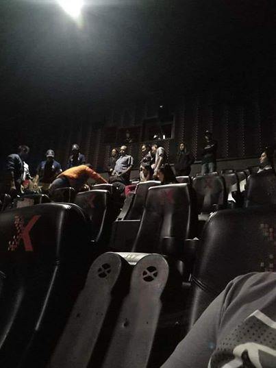 Pierde la vida en el cine
