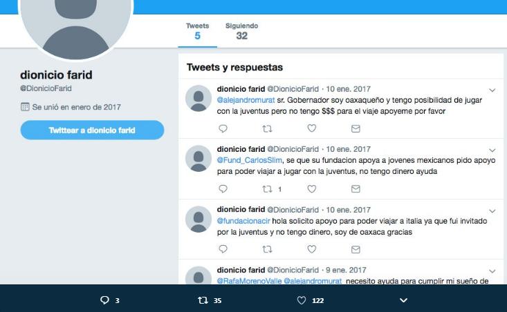 Dionicio Farid Twitter