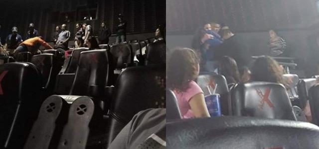 Pierden la vida en el cine