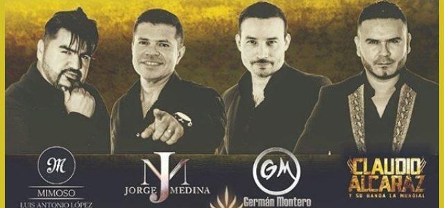 Las Voces de La Banda (Mimoso, Jorge Medina, German Montero, Claudio Alcaraz)