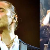 Alejandro Fernández hace el ridículo bailando con fan en concierto