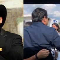 Julión Álvarez se detiene en plena calle a demostrarle cariño a sus fans