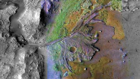 La NASA escoge sitio donde buscará vida en el planeta Marte