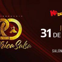 Boletos para el 20 Aniversario de América Salsa con la Ke Buena 940 am