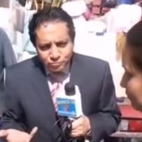 Reportero exhibe a huachicolero vendiendo otra cosita