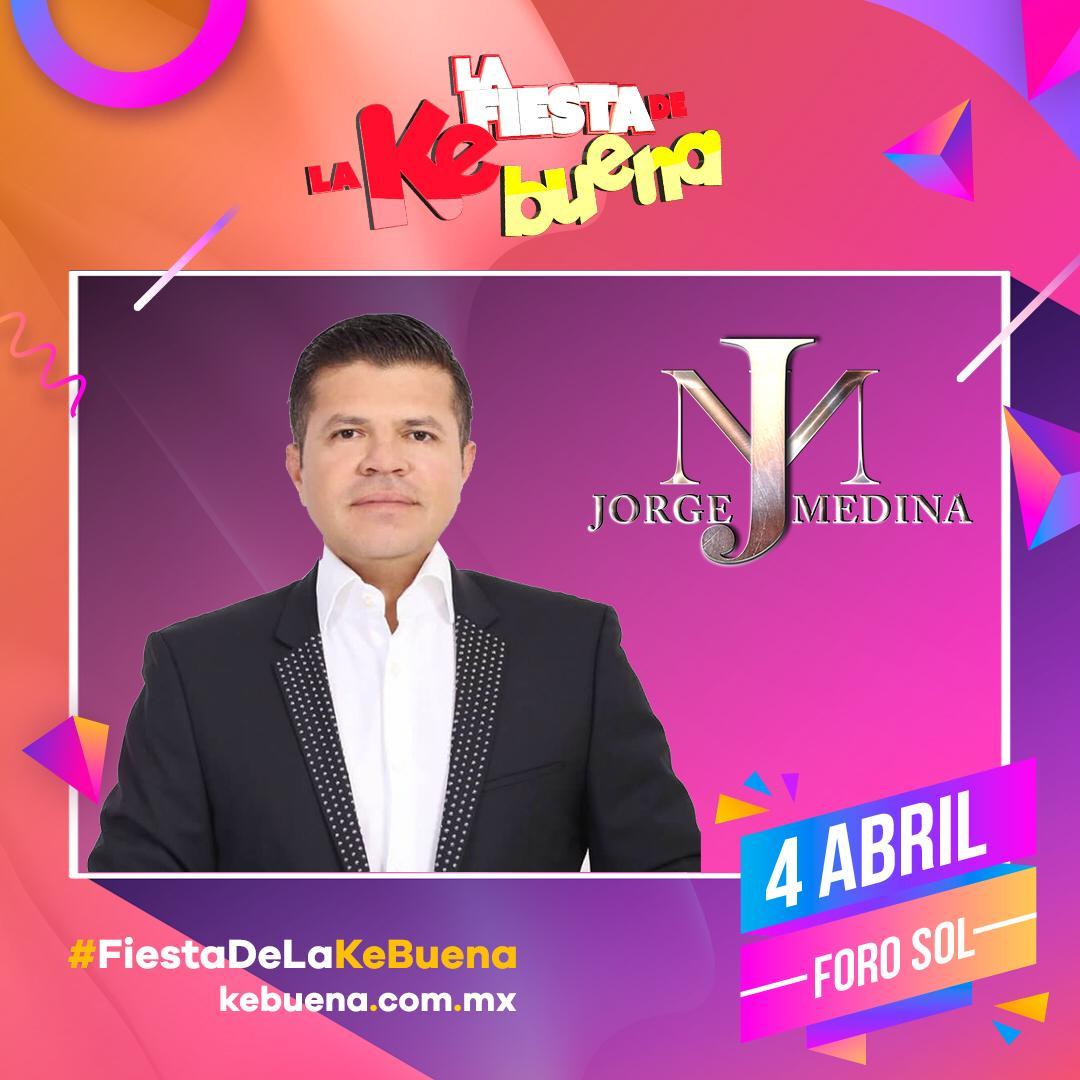 Jorge Medina está en la Fiesta de la Ke Buena 2019 con sus mejores éxitos como solista