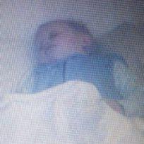 fantasma en cuna de un bebé