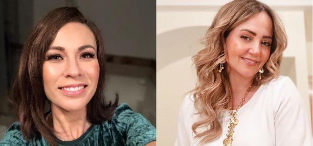 Ingrid Coronado y Andrea Legarreta