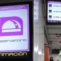¡Paren todo! El metro dará la hora exacta de llegada de los trenes