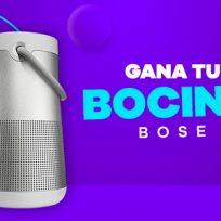 Este mes de septiembre la Ke Buena te regala tu bocina Bose
