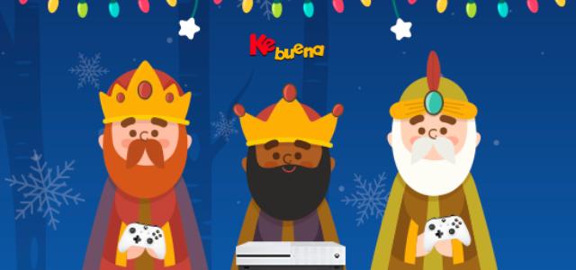 Los Reyes Magos llegan a la Ke Buena Ahora Los Reyes Magos llegan a la Ke Buenay te regalan Un Xbox