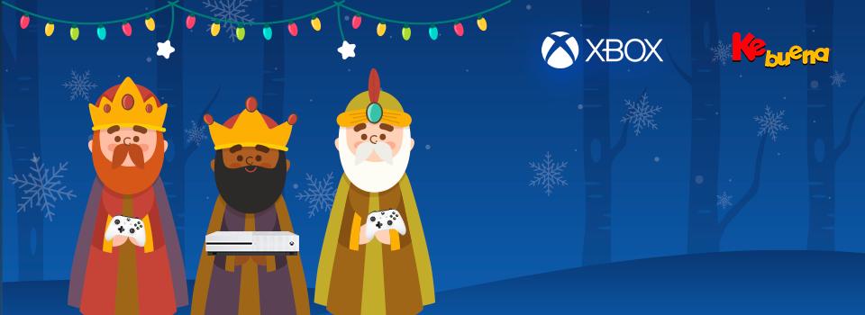 Los Reyes Magos llegan a la Ke Buena y te regalan un Xbox