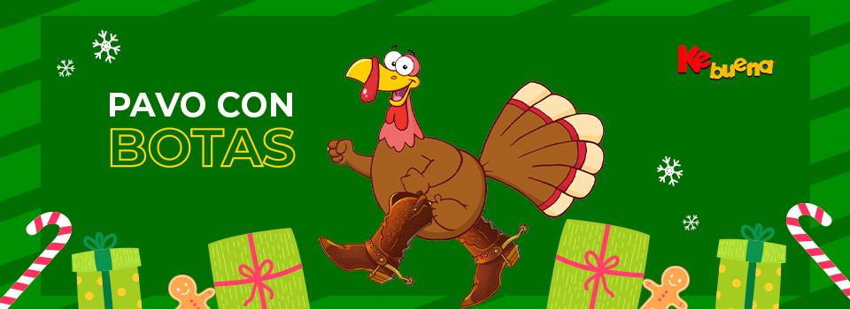 Todo diciembre gana tu pavo con botas en la Ke Buena 92.9