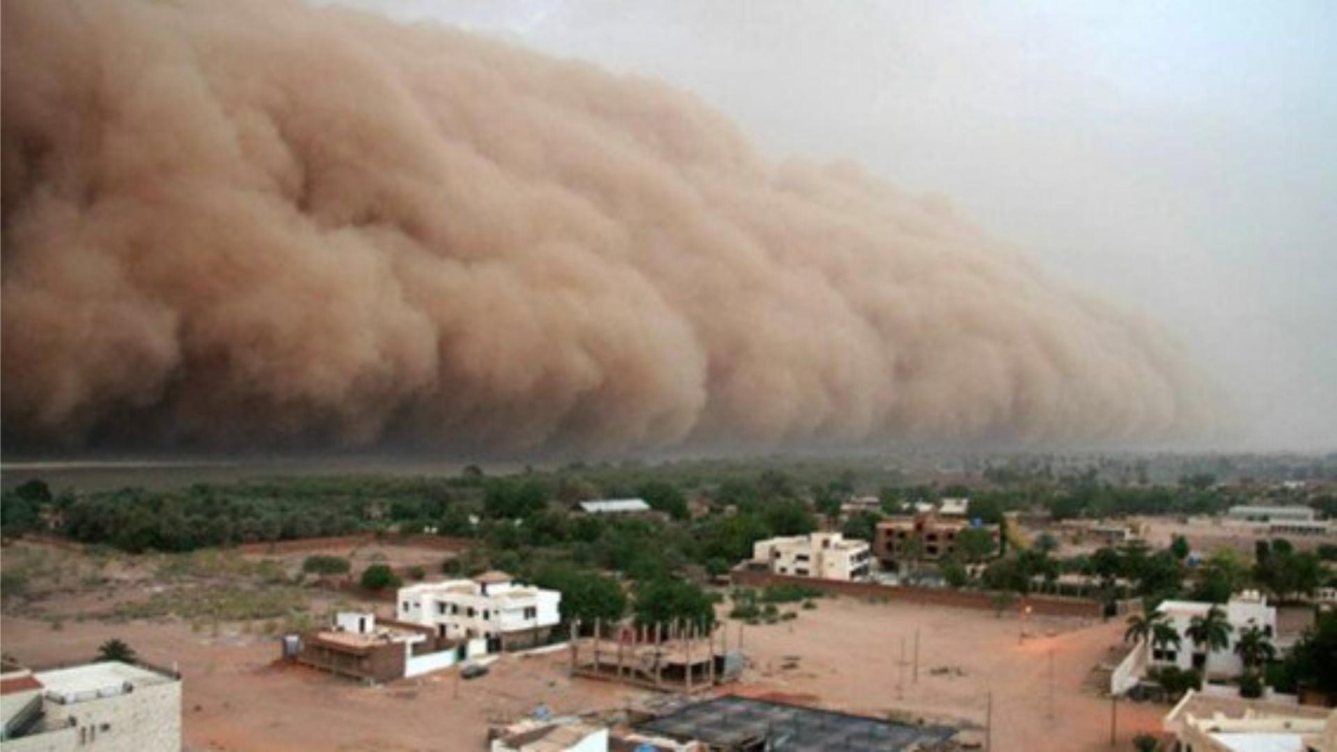 Cuidados que debes tener ante el polvo del Sahara en plena contingencia