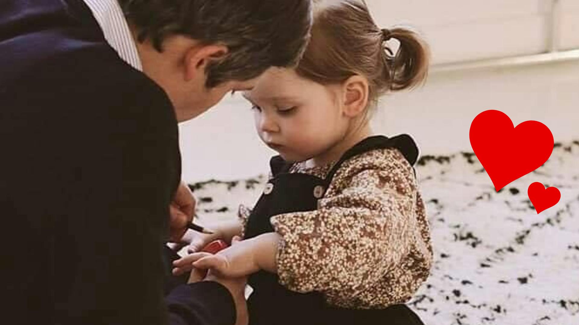 Ama a tu hija de la forma en que quieres que sea amada en el futuro