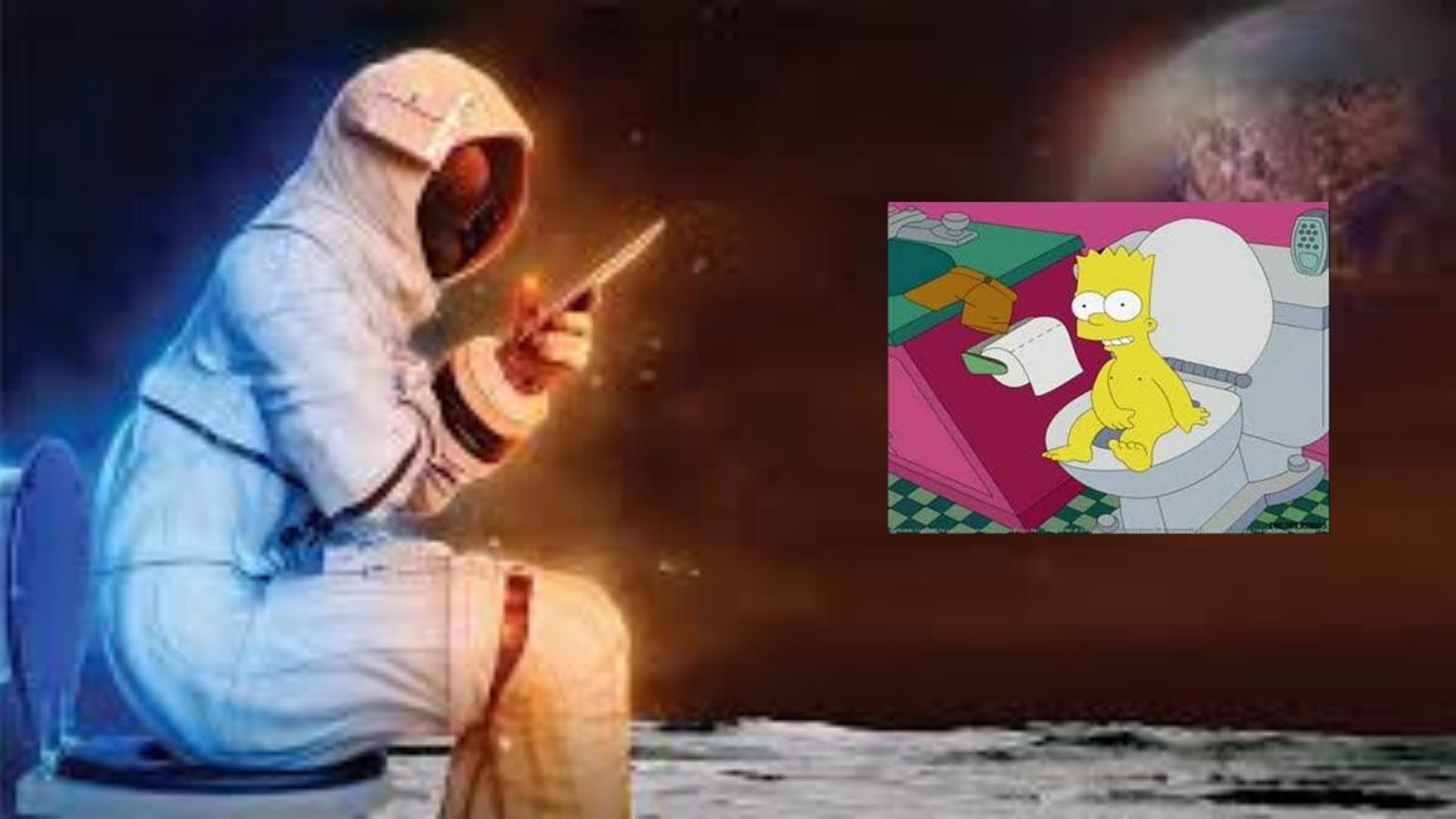 La NASA ofrece 35 dólares quien diseñe un baño que funcione en la luna