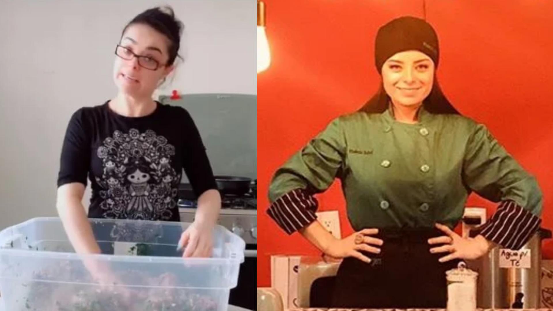 Violeta Isfel por fin abre su primer sucursal de hamburguesas
