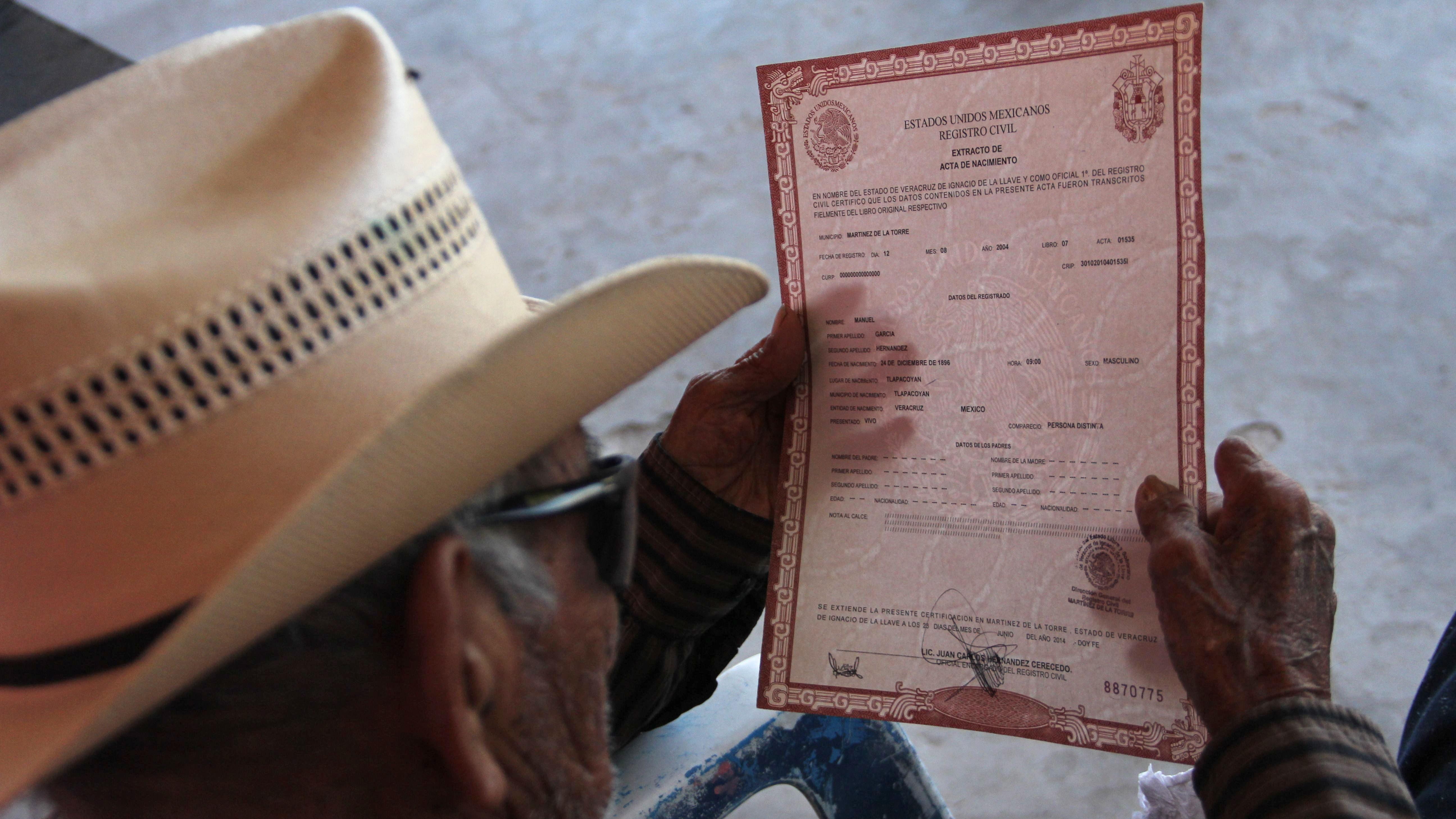 Registro Civil de la CDMX