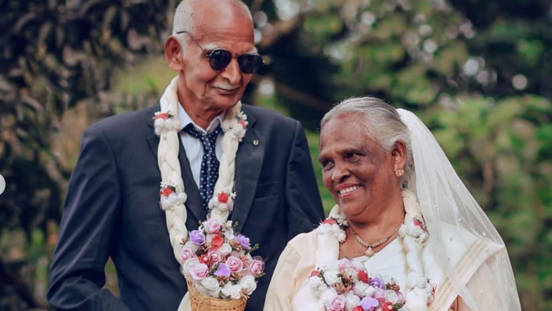 Se casan a la media hora de conocerse y ahora llevan 58 años juntos