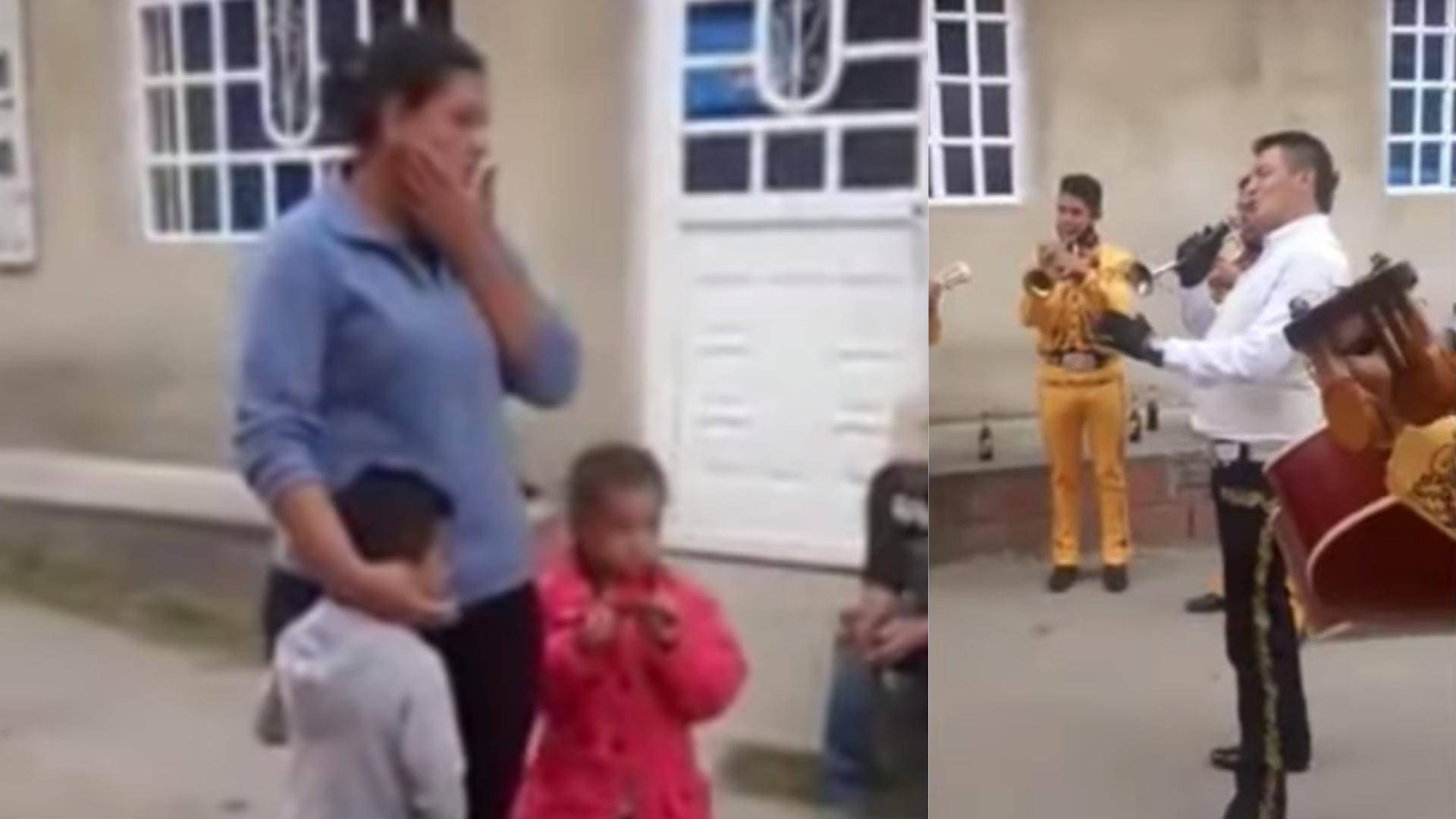 Niño paga con canicas a Marichis para llevarle serenata a su mamá