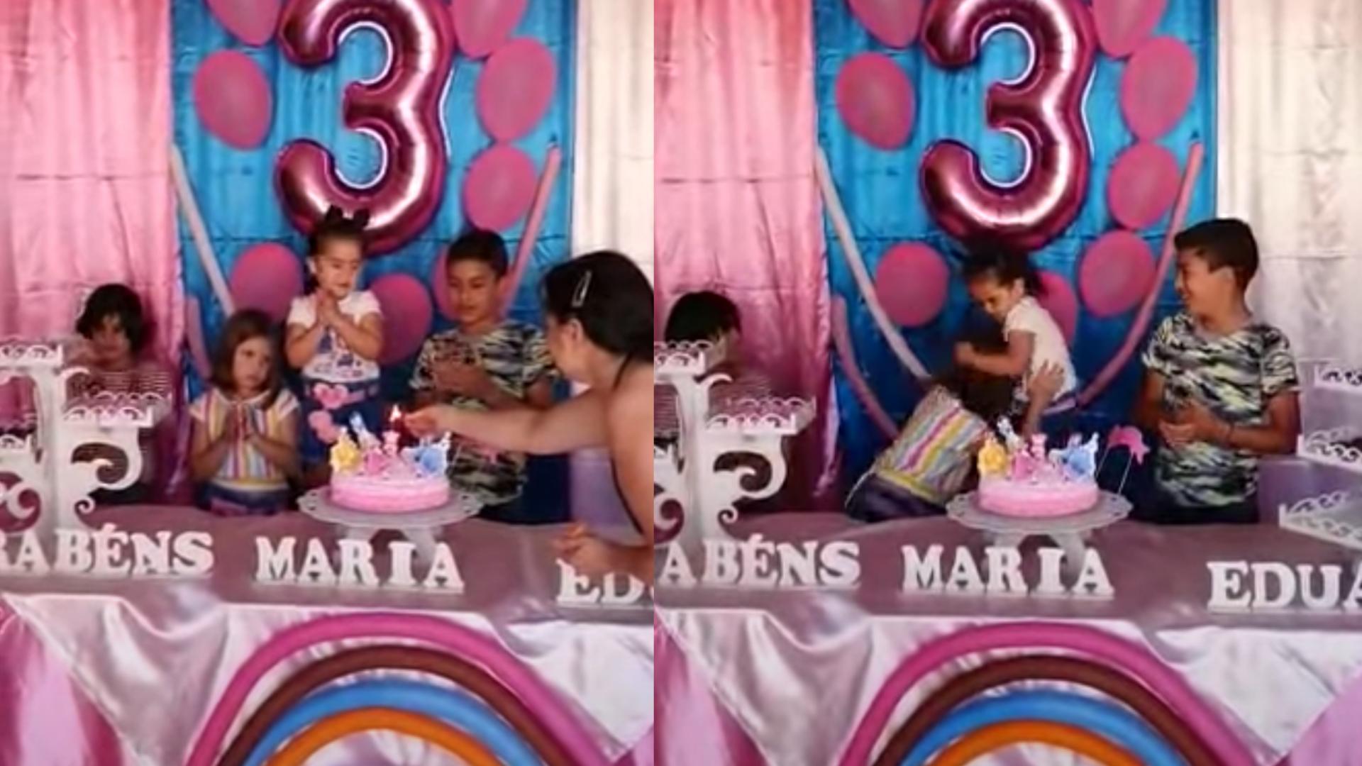 Así terminaron las niñas del cuppleaños que se hizo viral