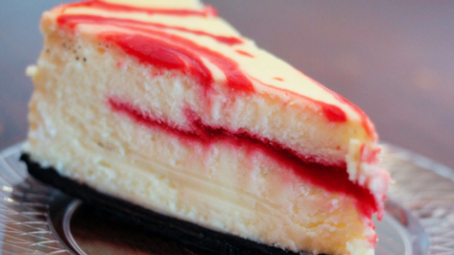 Receta de un rico Cheescake helado de frambuesa en sólo 25min