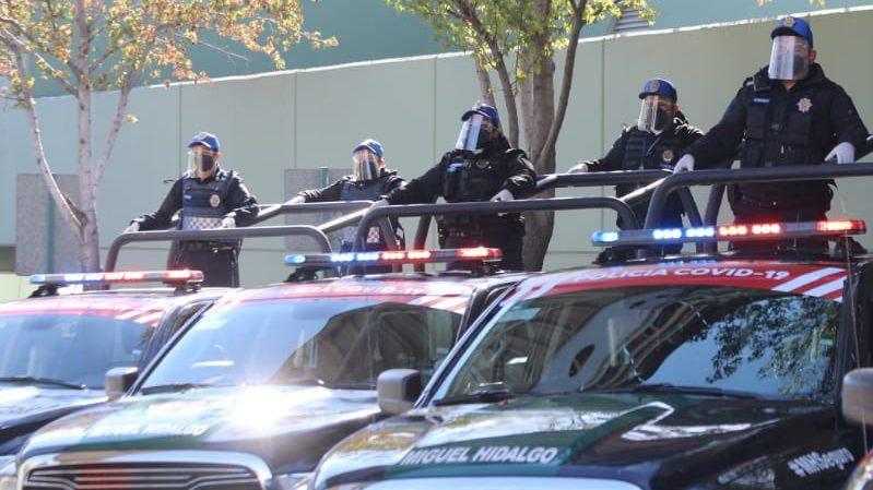 Policía COVID-19