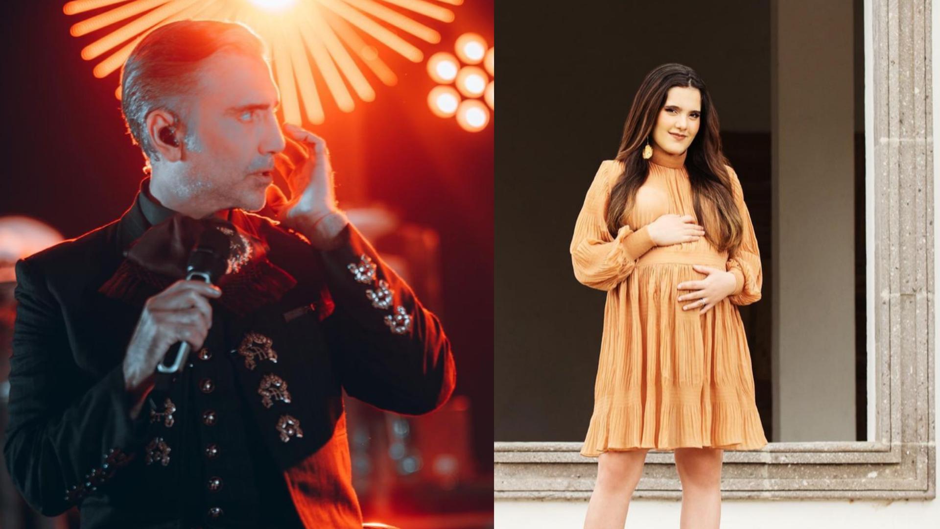 Alejandro Fernández se convierte en abuelo y su hija estrena canción