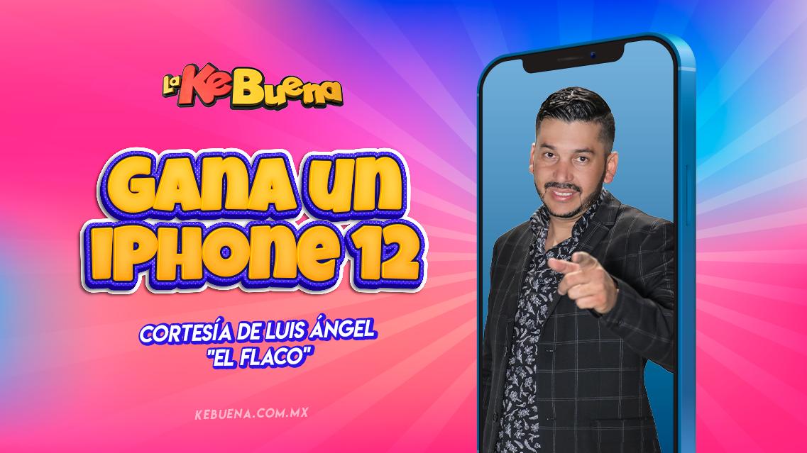 Gana un iPhone 12 cortesía de Luis Ángel