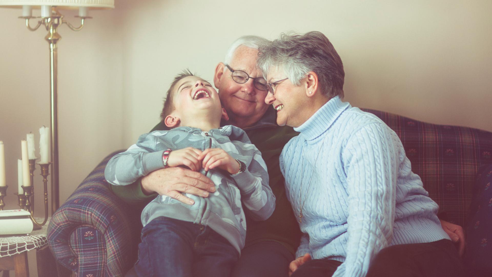 Los abuelitos son el mejor regalo que la vida nos puede dar