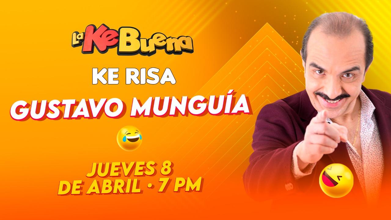 Gustavo Munguía en Ke Risa con Fercho, Doña Pepona y El Indio Brayan
