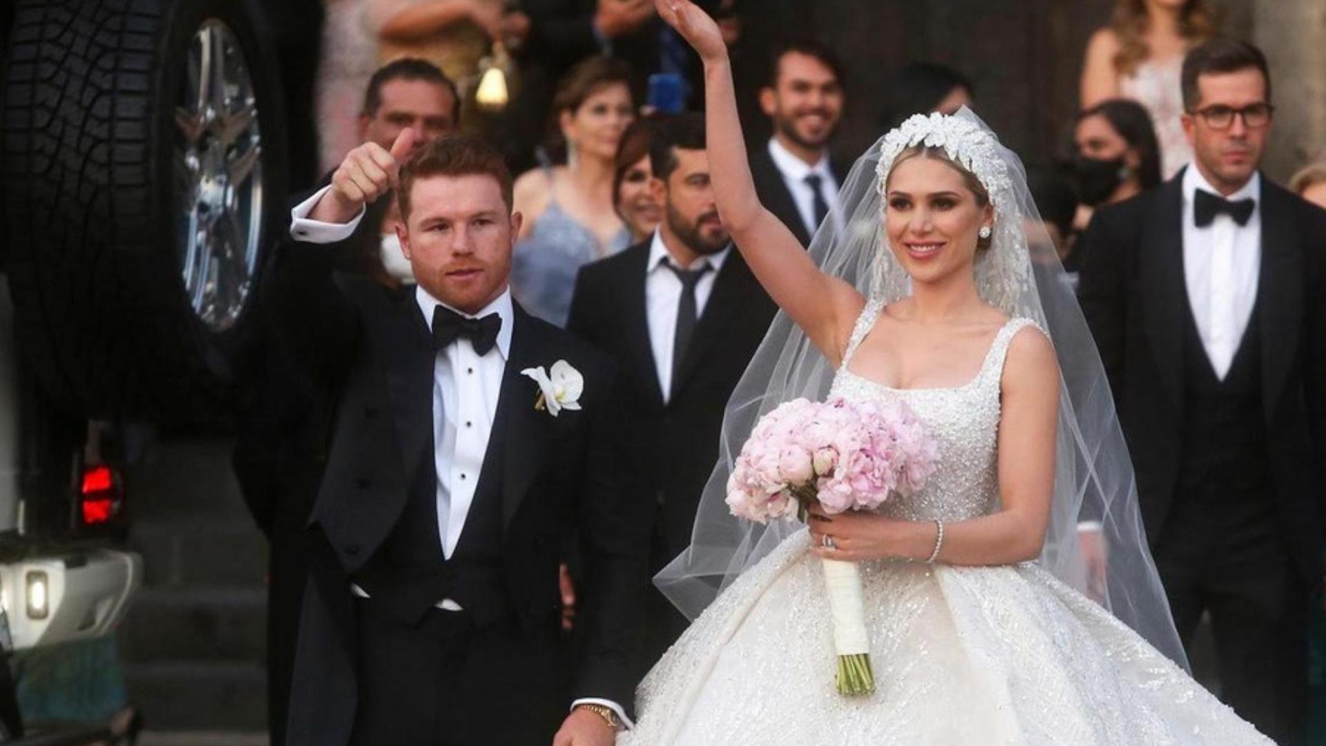Canelo: Banda el Recodo y Los Ángeles Azules en su boda