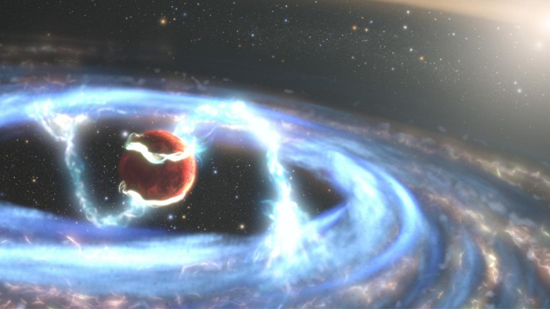El Telescopio Hubble capta por primera vez la formación de un planeta