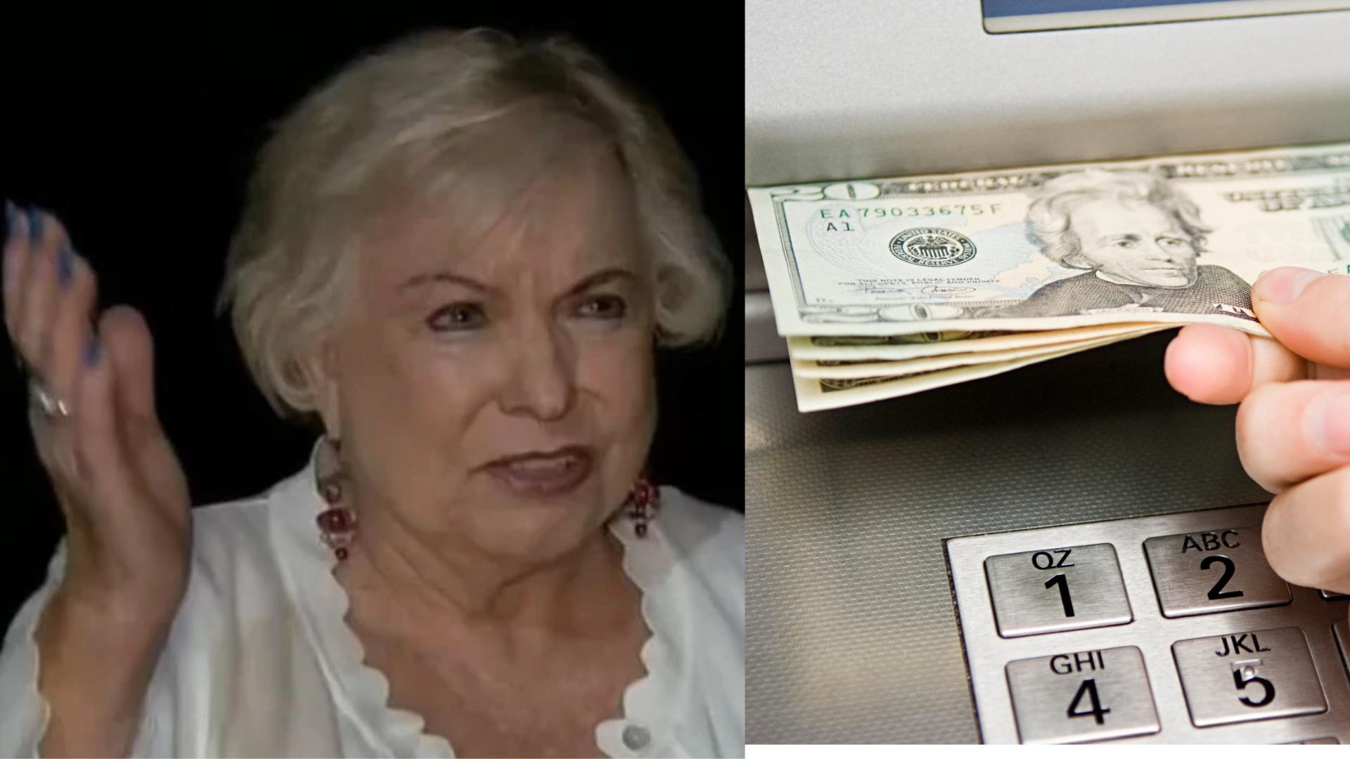 Mujer va al cajero y se da cuenta que le depositaron millones de pesos