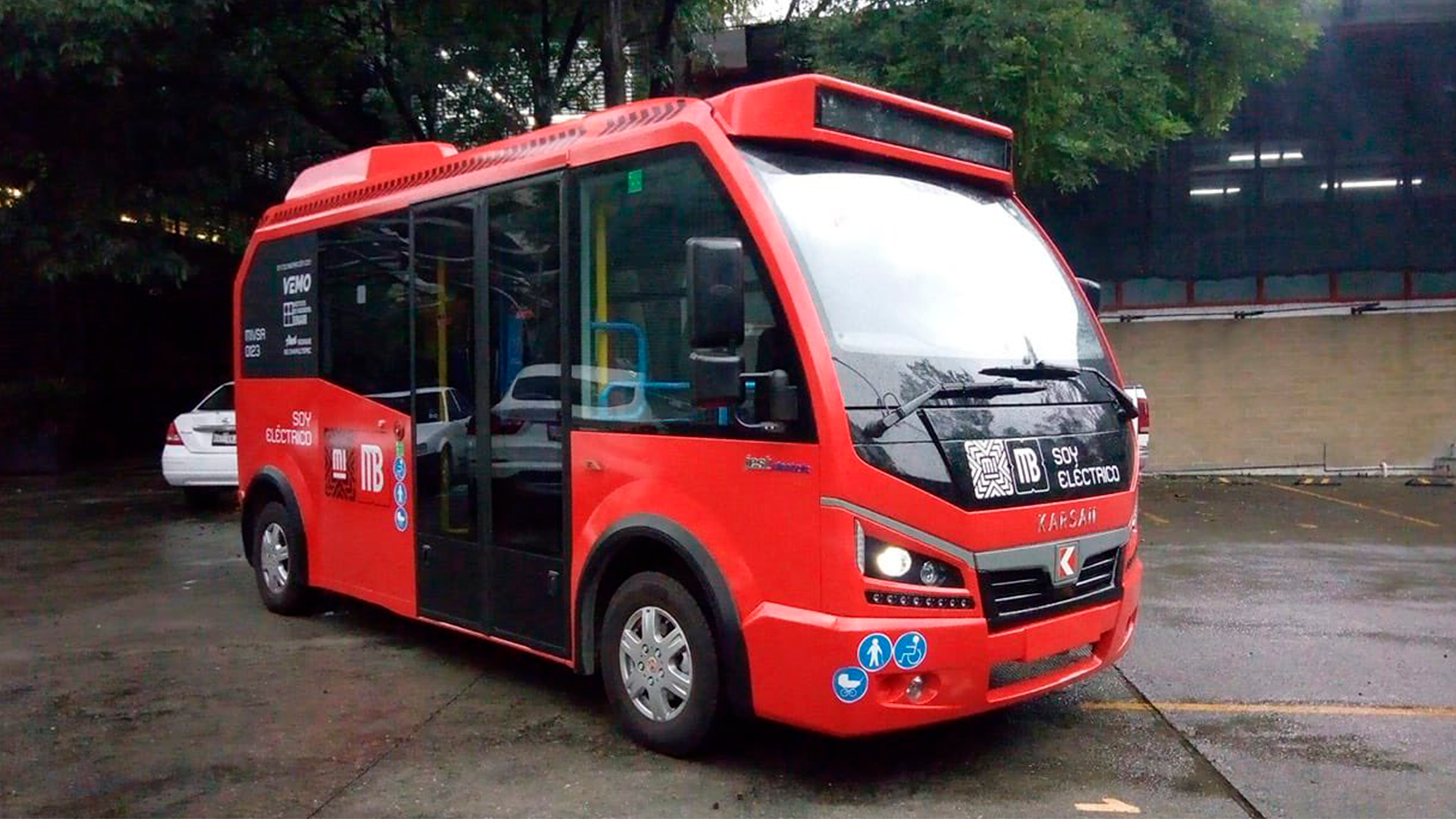 metrobús bebé