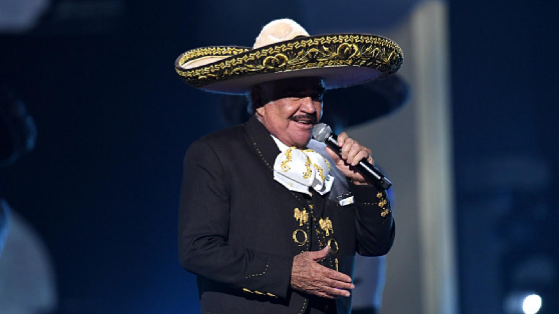 Vicente Fernández revela cómo le gustaría que fuera su funeral